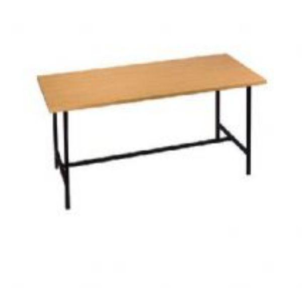שולחן רגל מתכת עם חיזוק