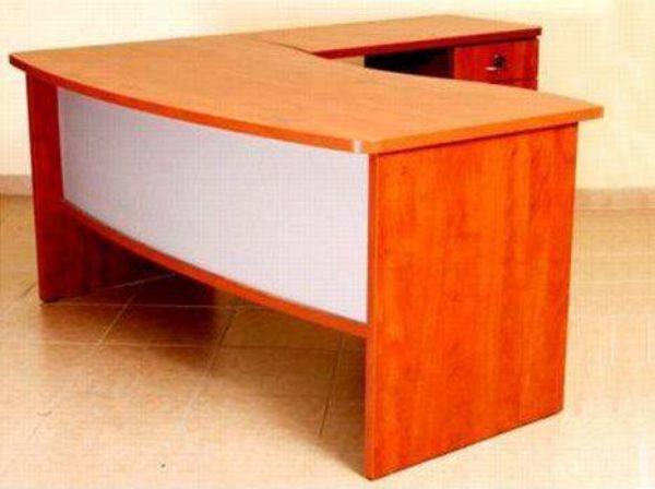 שולחן מזכירה גל רגל עץ-168