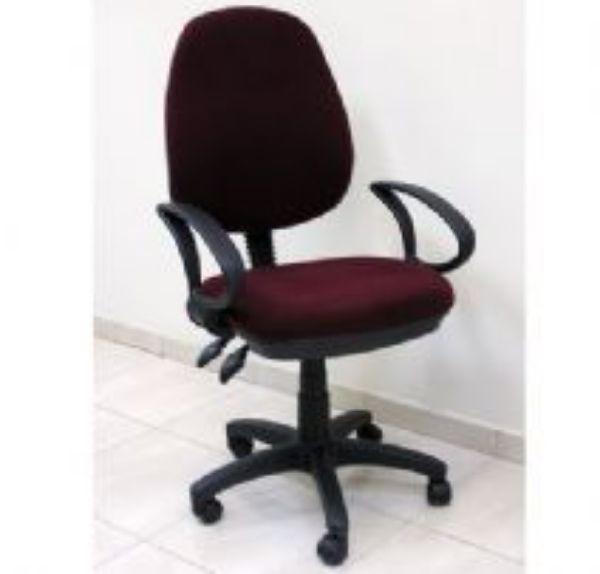 כסא מזכירה אורן כולל ידיות