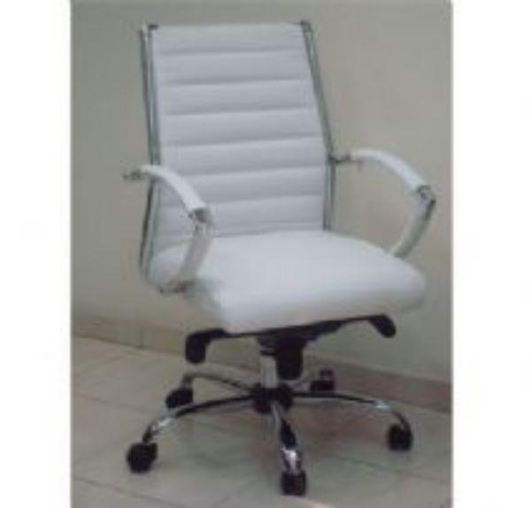 כסא מנהלים שי בינוני לבן