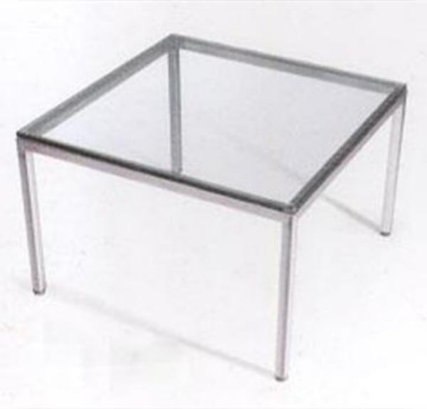 שולחן המתנה מרובע 4 רגלים-247