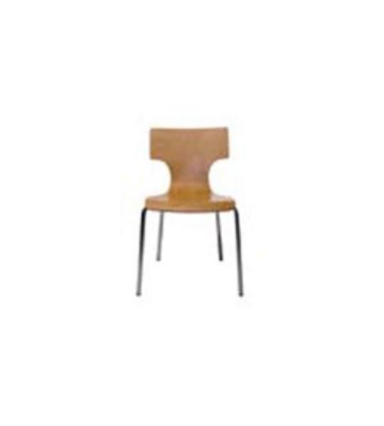 כסא המתנה ג'ים מושב עץ-765