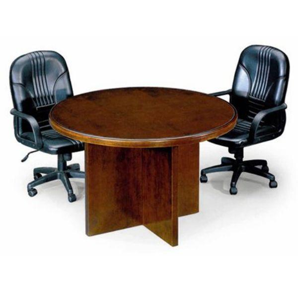 שולחן ישיבות עץ עגול-186
